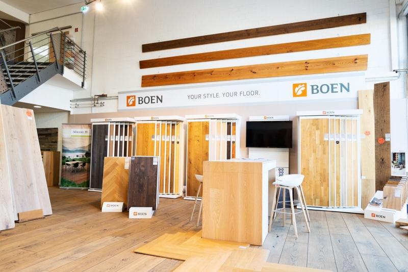 Unsere Ausstellung - Parkett und Dielenzentrum Waltersdorf