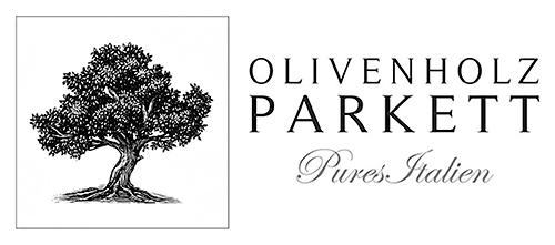 Olivenholz-Parkett Logo