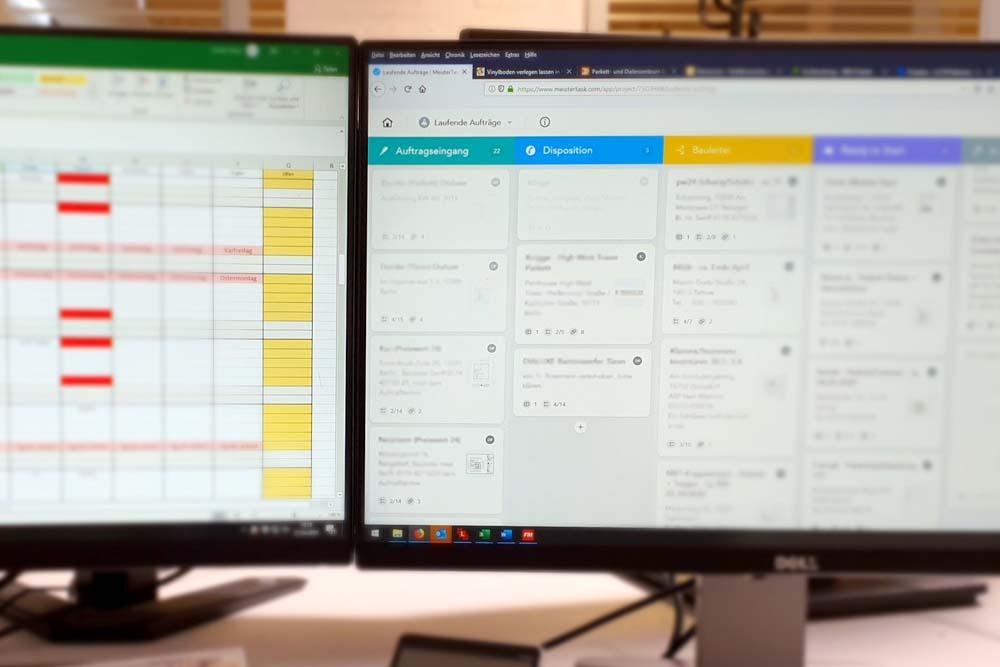 Projektverwaltung mit Moderner Software